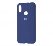 Чехол Silicone Cover для Xiaomi Redmi Note 7 Синий