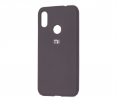 Чехол Silicone Cover для Xiaomi Redmi Note 7 Черный
