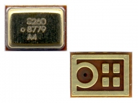 Микрофон Nokia 3600 Slide, 300, 301, 302, 311, 500, C3-01, 4 x 3 x 1mm