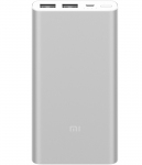 Внешний аккумулятор Xiaomi Mi 2S Power bank 10000mAh Silver (VXN4228CN)
