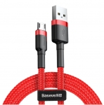 Кабель Baseus Cafule Cable MicroUSB Red (CAMKLF-C09)