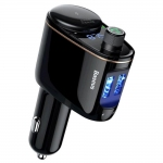 FM-трансмиттер Baseus Lokomotive MP3 Vehicle Charger Black (CCALL-RH01)